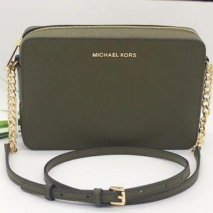 MICHAEL KORS LG EW CROSSBODY Bag DUFFLE 35T8GTTC9L